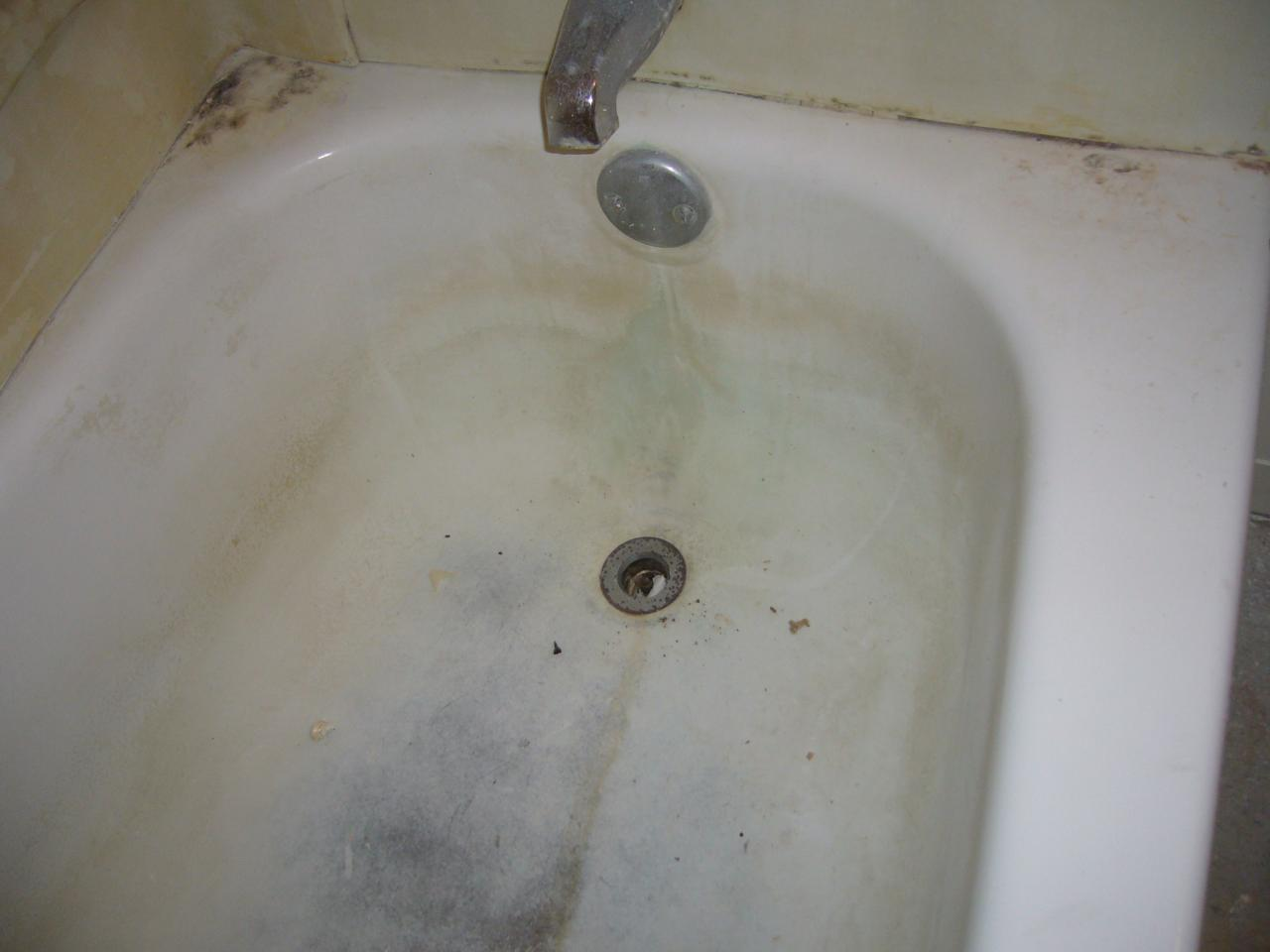 that porcelain fixed drill refinishing mom bathtub and everything sinks her tub the bottle clawfoot